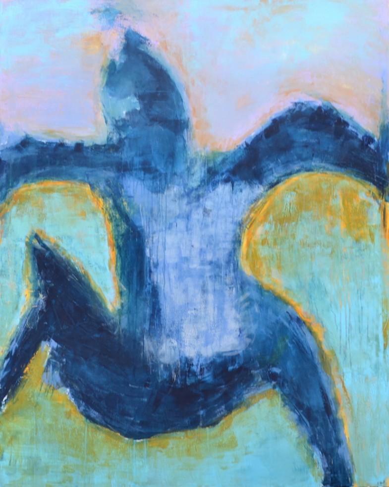 Blues 120x150 cm